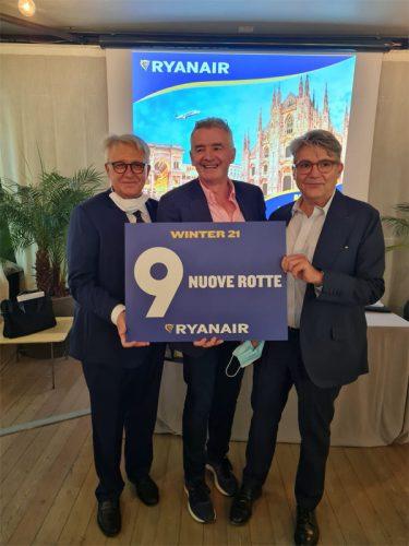 Ryanair Milano Winter 2021