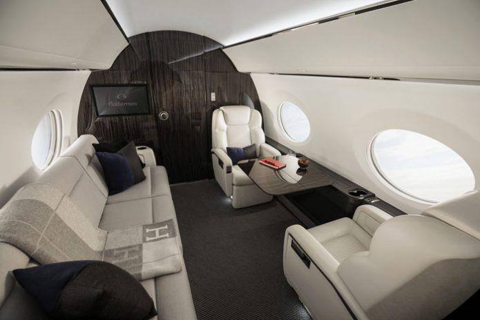 The Award Winning Gulfstream G500 Interior
